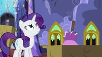 Rarity not happy S5E11