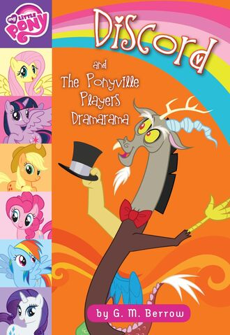 File:Discord and the Ponyville Players Dramarama book cover.jpg