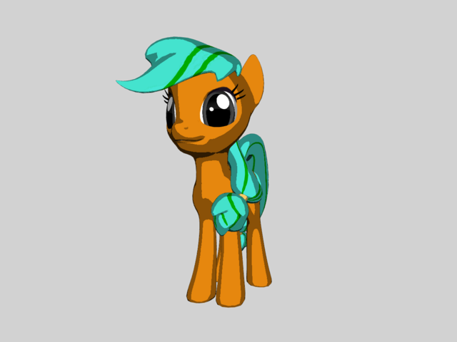 File:FANMADE 3D Fruity Treeze OC (Toon Shaded).png