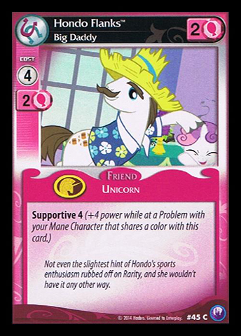 File:Hondo Flanks, Big Daddy card MLP CCG.jpg
