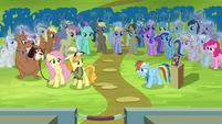 """Rainbow """"there's no way this trade can be fair"""" S4E22"""