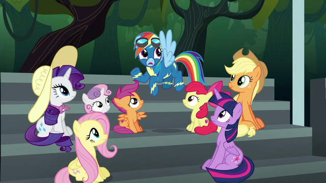 File:Rainbow Dash being dodgy S6E7.png