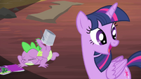 Twilight noticing Rarity S4E06