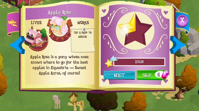 File:Apple Rose album MLP mobile game.png