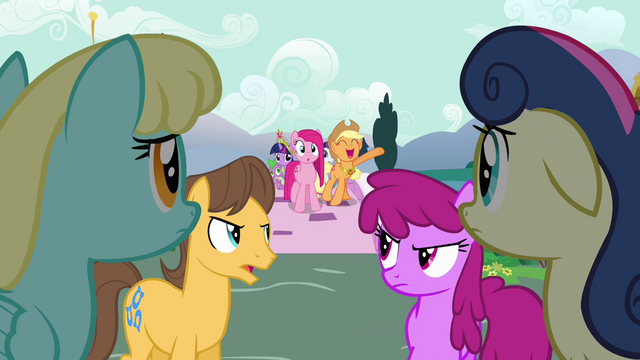 "File:Applejack singing ""we'd appreciate a lot"" S03E13.png"