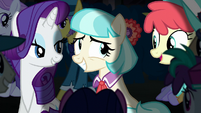 Coco Pommel bashful to receive praise S5E16