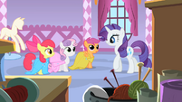 Rarity 'Are you girls still obsessing over your cutie marks?' S1E23