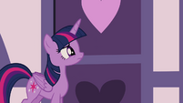 Twilight hearing noise inside S4E18