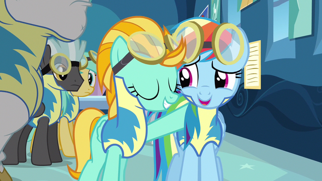 File:Rainbow Dash forced smile S3E7.png
