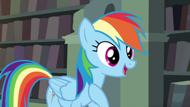 "File:Rainbow Dash ""being loyal to my friends"" S4E25.png"