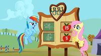 Rainbow Dash wins the Iron Pony competition S01E13