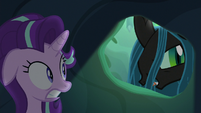 "Queen Chrysalis ""the secret of my throne"" S6E26"