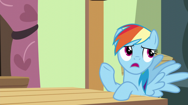 "File:Rainbow Dash ""I promised to help Pinkie Pie"" S6E11.png"