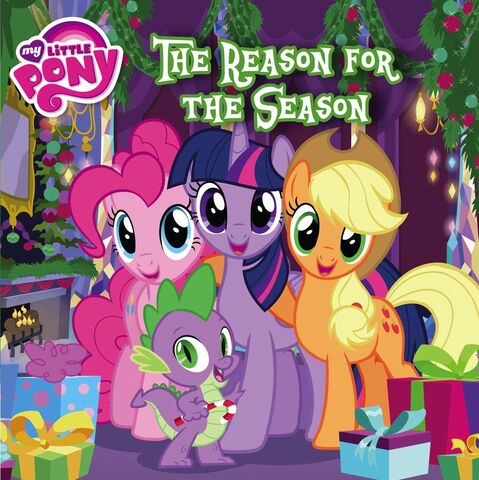 File:MLP The Reason for the Season storybook cover.jpg