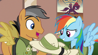 """Quibble """"on page 84 of Sapphire Stone"""" S6E13"""