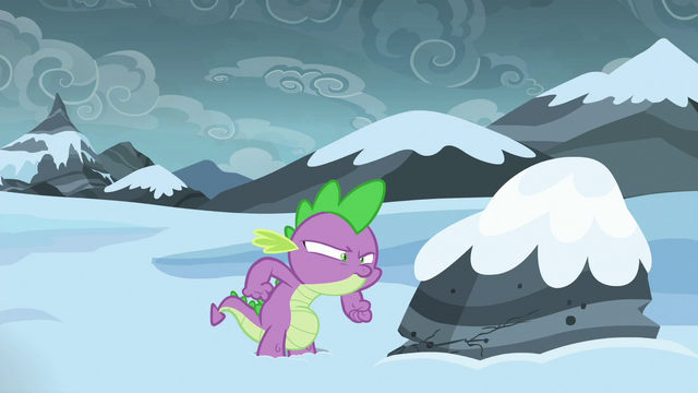 File:Spike staring at the rock S6E16.png