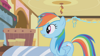 Rainbow Dash listens to the accusations S1E05