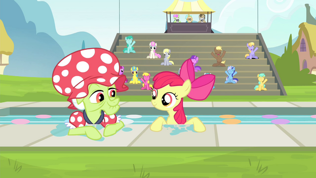 File:Apple Bloom and Granny Smith resurfacing S4E20.png
