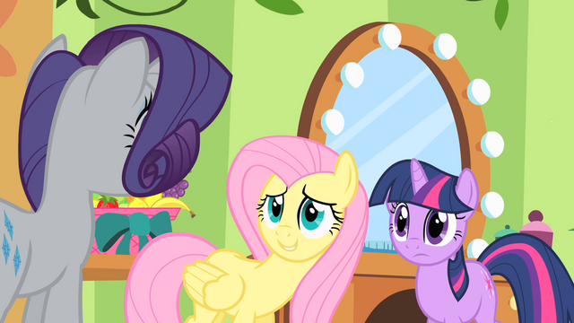 File:Fluttershy hiding her thoughts 2 S1E20.png