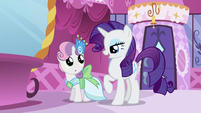 "Rarity ""they're going as our dates"" S5E7"