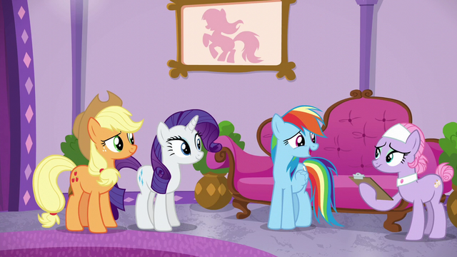 "File:Rainbow Dash ""I'll just come back tomorrow"" S6E10.png"