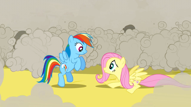File:Rainbow Dash smiles at Fluttershy S2E26.png
