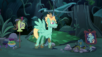Zephyr Breeze about to lose his mind S6E11