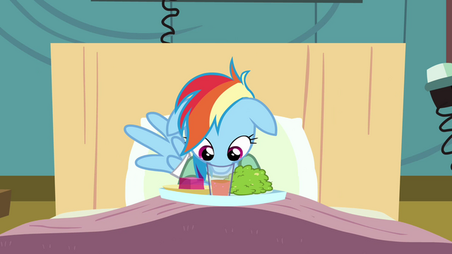 File:Rainbow Dash trying to drink S2E16.png
