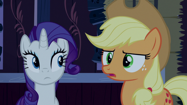 "File:Applejack ""or think it's funny?"" S6E15.png"