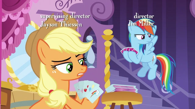 File:Applejack tells the fillies to keep it down S5E7.png