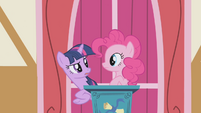 Pinkie Pie with Twilight S1E04
