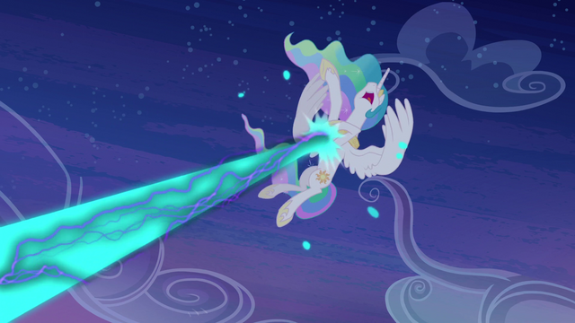 File:Princess Celestia is hit S4E02.png