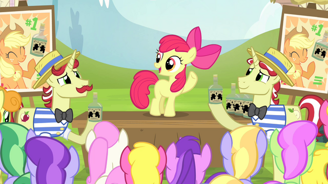 File:Apple Bloom speaking to the ponies S4E20.png