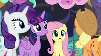 """Fluttershy """"do we walk back up the slide or... or what?"""" S5E11"""