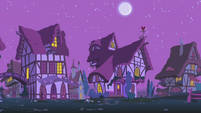 Ponyville at nighttime S1E06