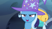 "Thorax as Trixie ""looking for somepony?"" S6E26"