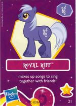 Wave 6 Royal Riff collector card
