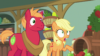 Young Applejack tells her first lie S6E23