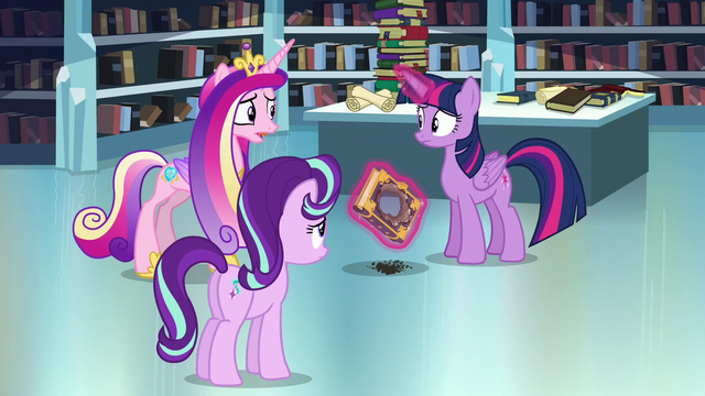 "File:Cadance ""Do you think you can remember the spell?"" S6E2.png"