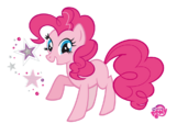 Pinkie Pie by mantiburi