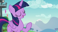 "Twilight ""thanks to Pinkie's connections organizing the Ponypalooza Rock Concert"" S5E24"