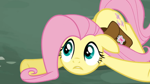 File:Fluttershy collapsed S02E19.png