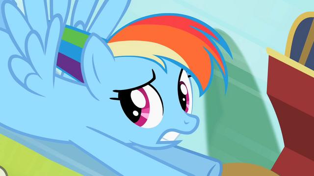 File:Rainbow Dash tough crowd S2E8.png