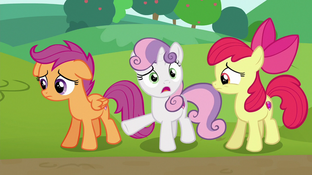 "File:Sweetie Belle ""now they're gonna drive them?!"" S6E14.png"