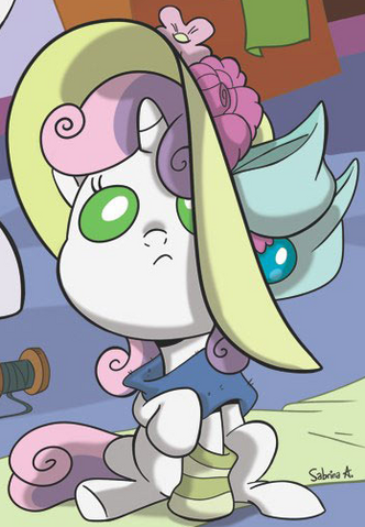 File:Micro-Series issue 3 baby Sweetie Belle.png