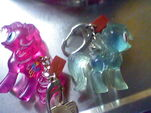 Special Edition Crystal Pony keychains
