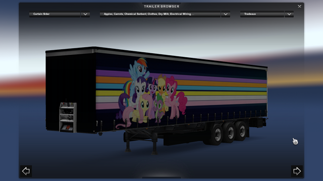 File:FANMADE ETS2 Pete 389 Custom - Pinkie Pie Skin 10.png