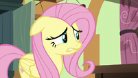Fluttershy biting her lower lip S6E11