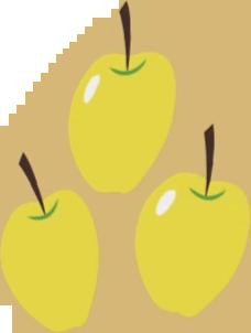File:Golden Delicious cutie mark crop S1E01.png