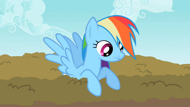 File:Rainbow Dash looking over S2E8.png